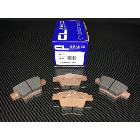 Plaquettes AR Carbone Lorraine RC5+ Peugeot 207